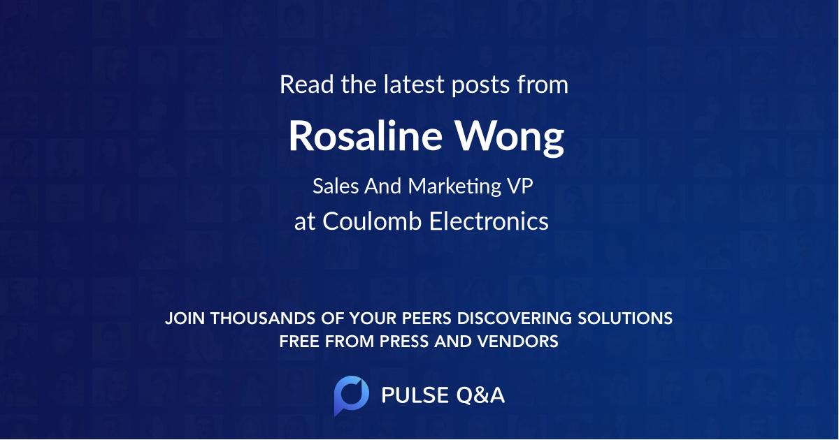 Rosaline Wong