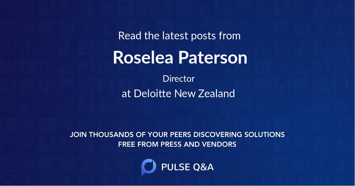 Roselea Paterson