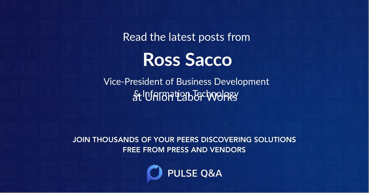 Ross Sacco