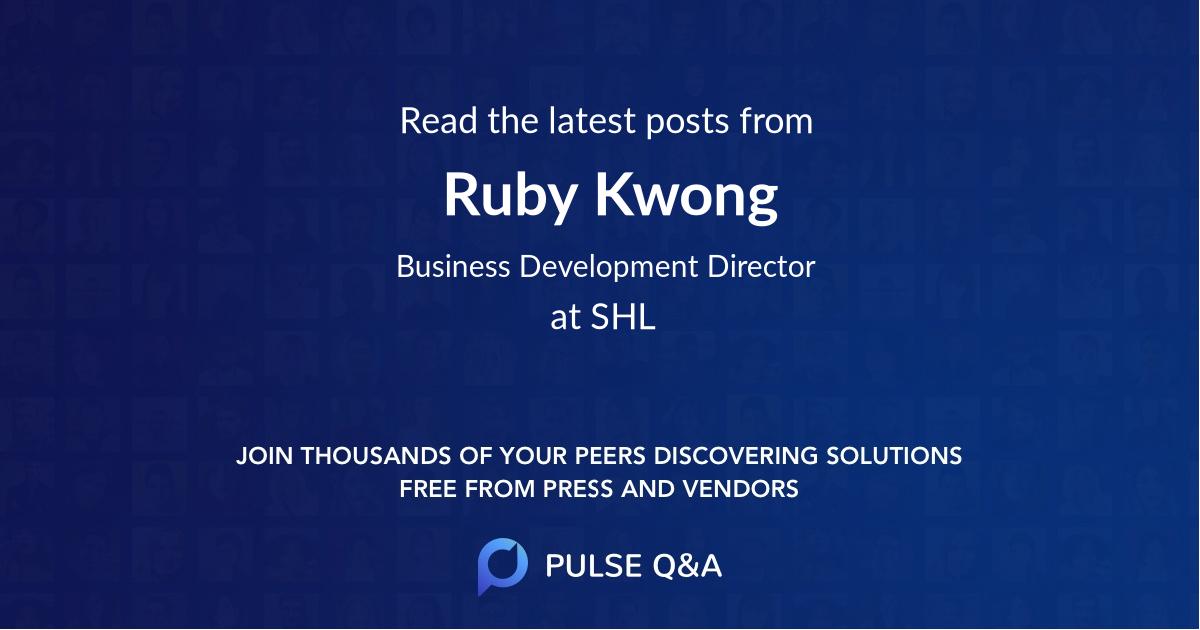 Ruby Kwong
