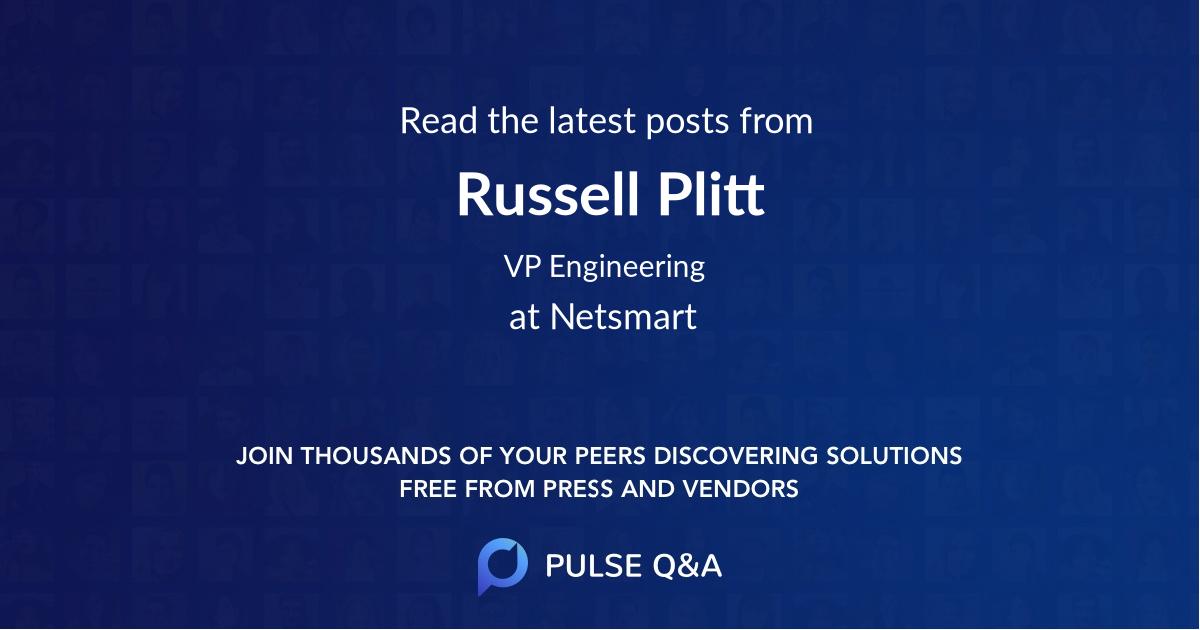 Russell Plitt