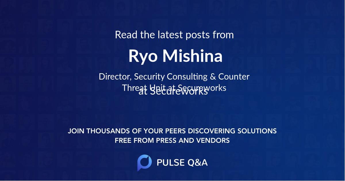 Ryo Mishina