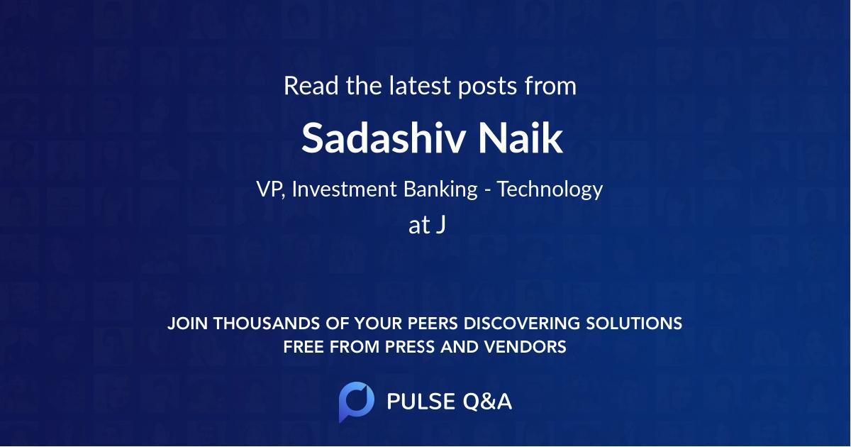 Sadashiv Naik