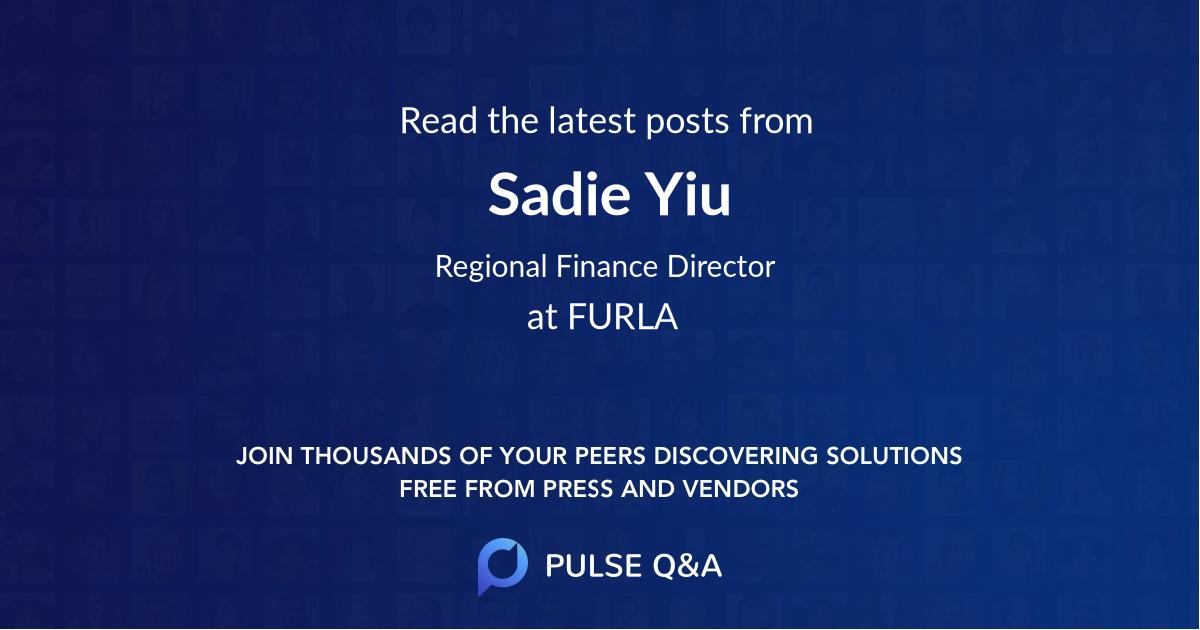 Sadie Yiu
