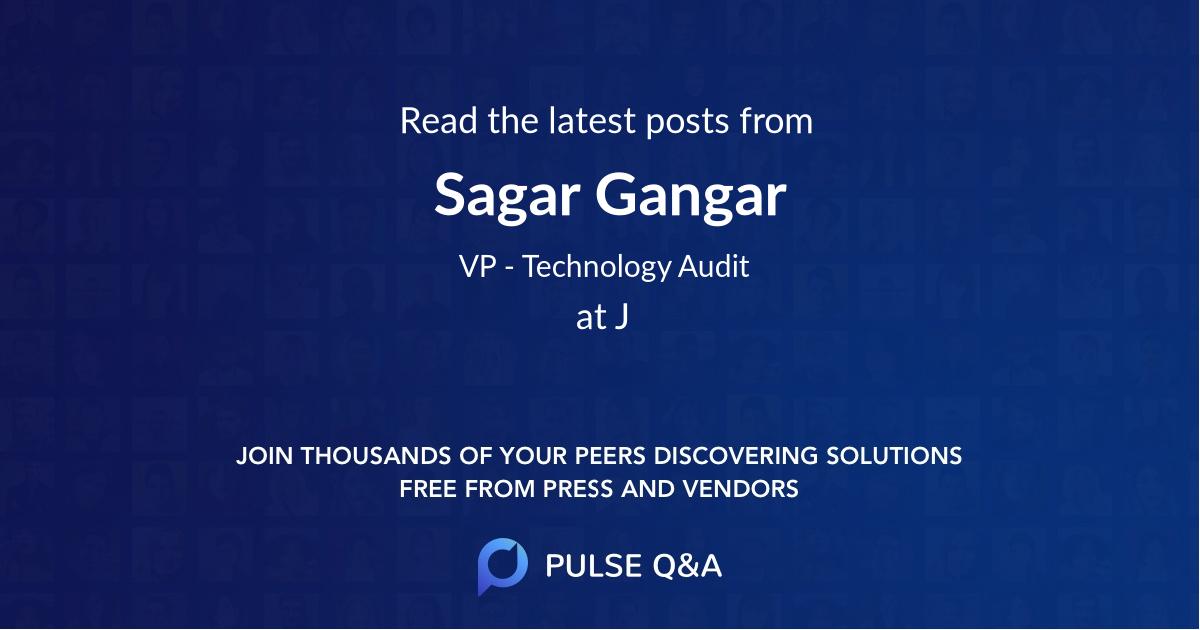 Sagar Gangar