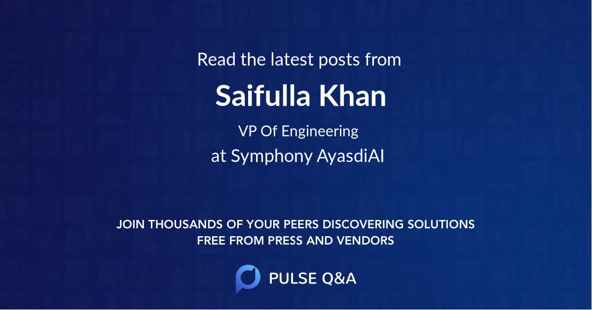 Saifulla Khan