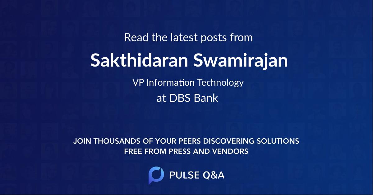 Sakthidaran Swamirajan