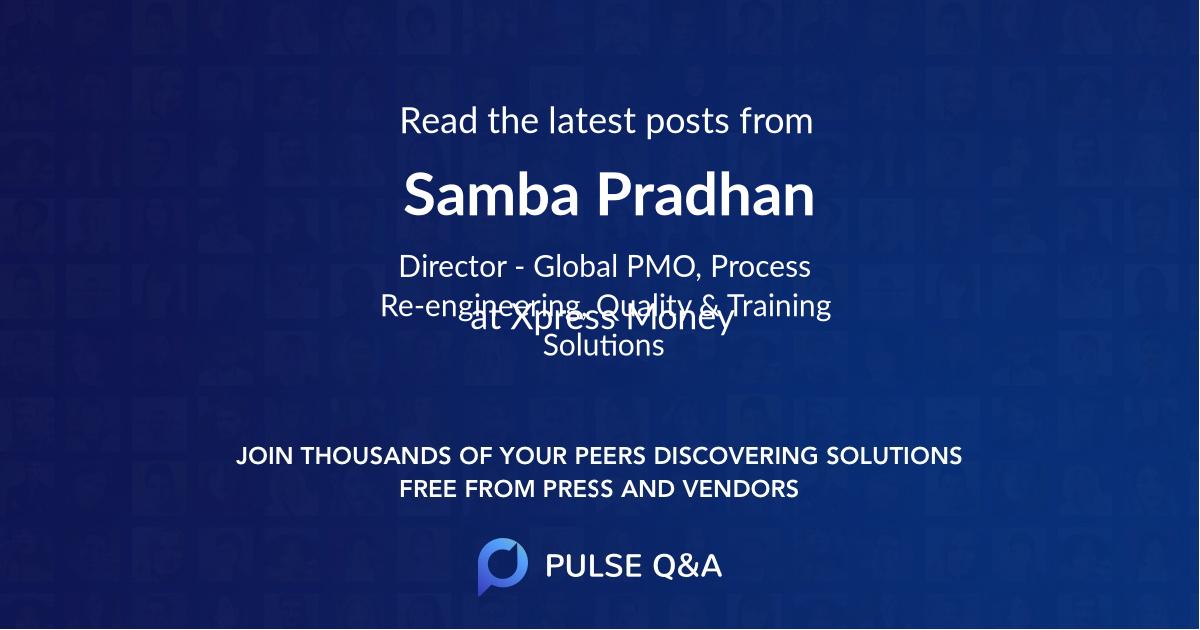 Samba Pradhan