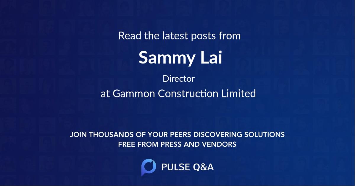 Sammy Lai