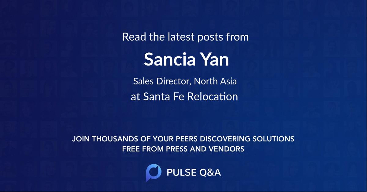 Sancia Yan