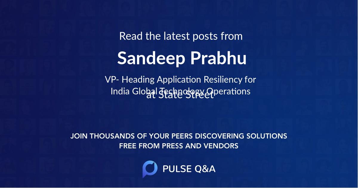 Sandeep Prabhu