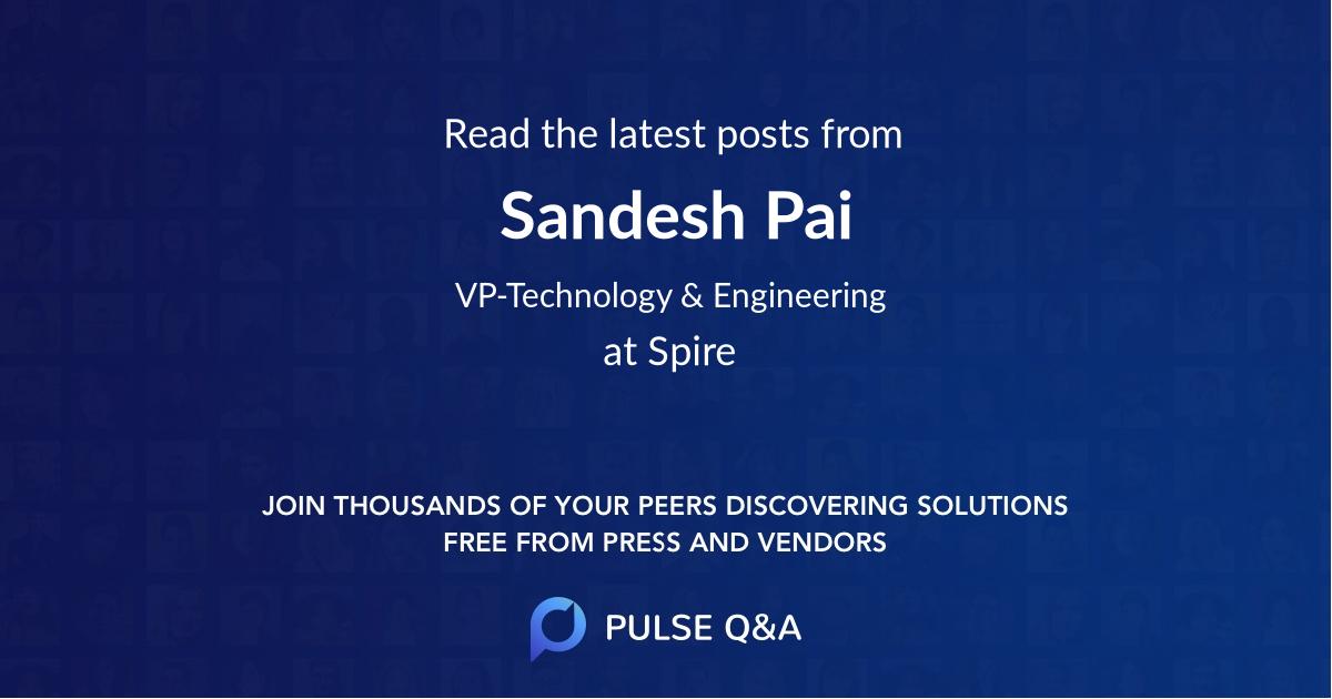 Sandesh Pai