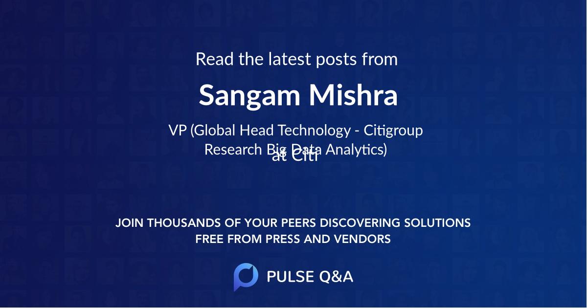 Sangam Mishra