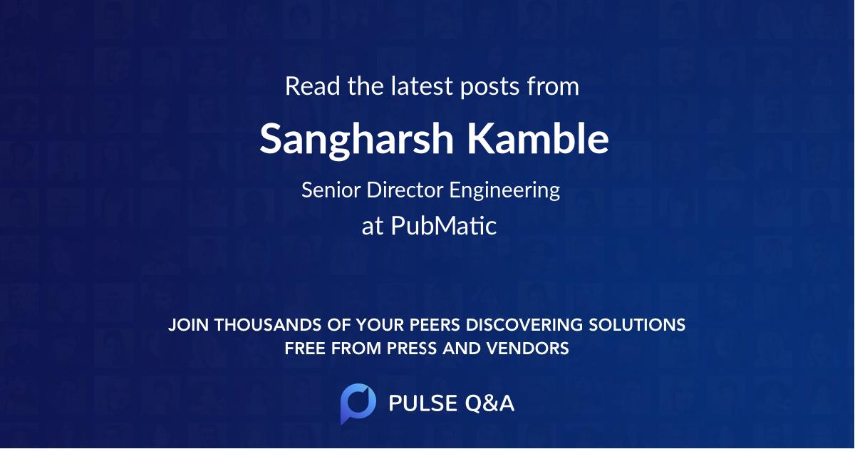 Sangharsh Kamble