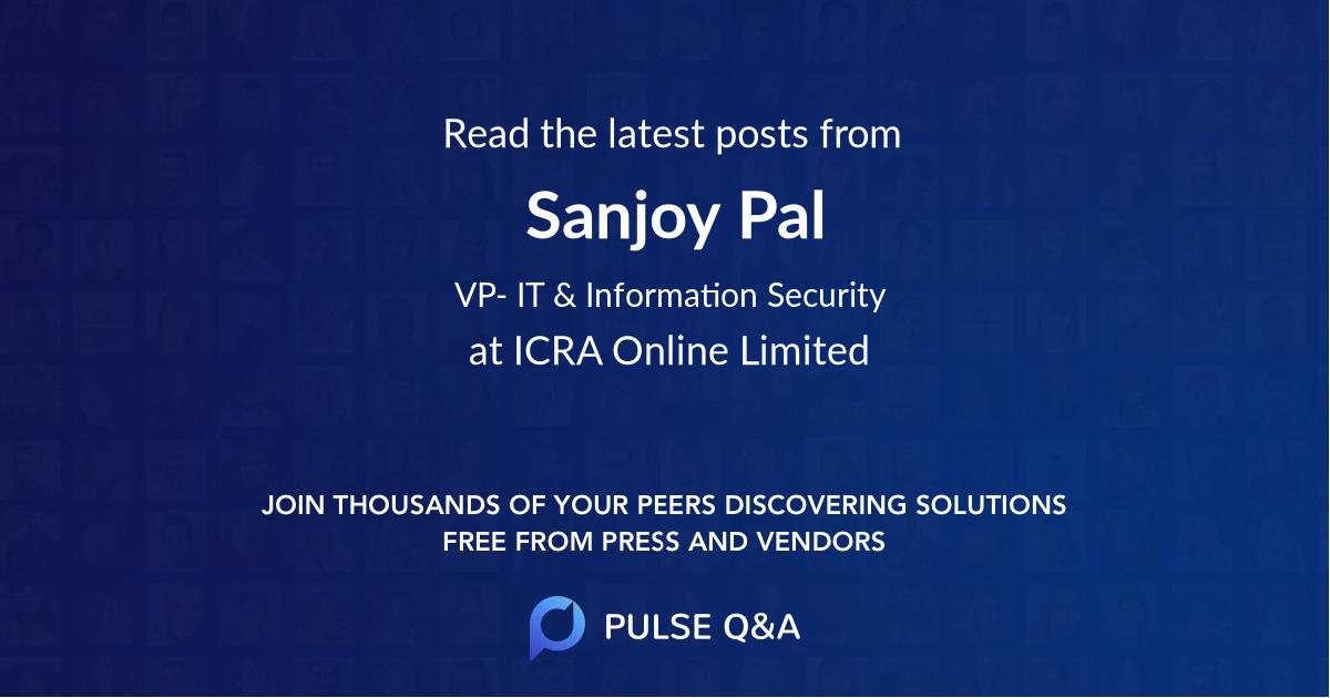 Sanjoy Pal