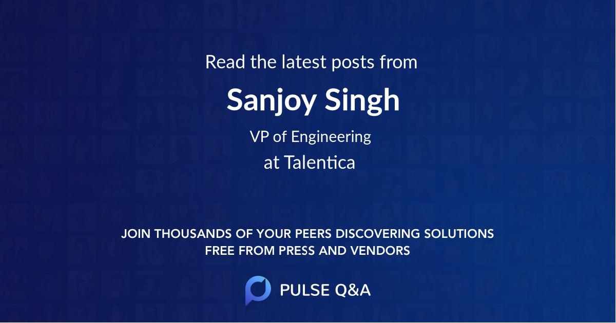 Sanjoy Singh