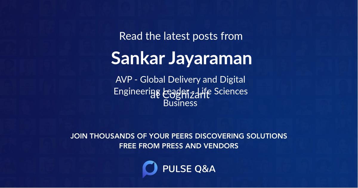 Sankar Jayaraman