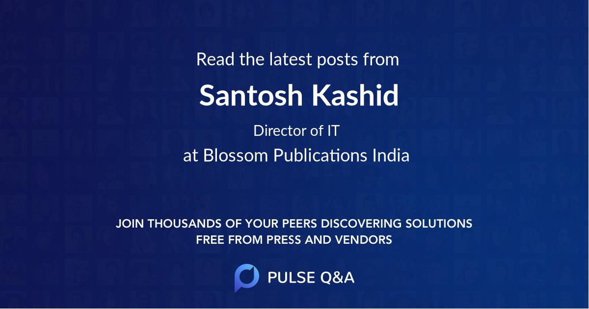 Santosh Kashid