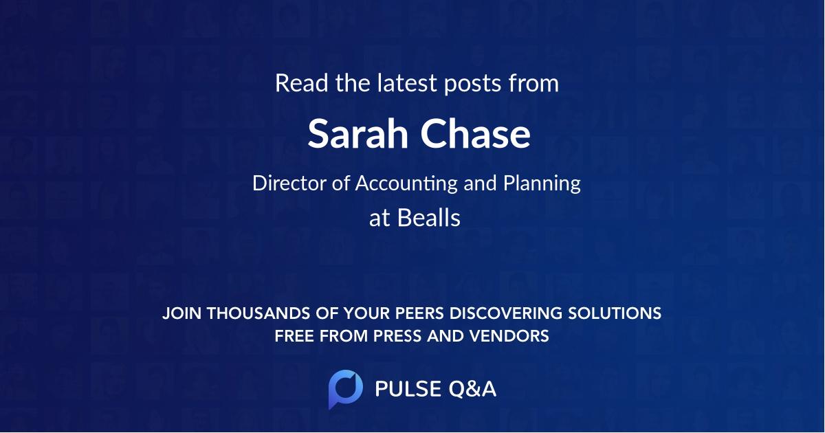 Sarah Chase