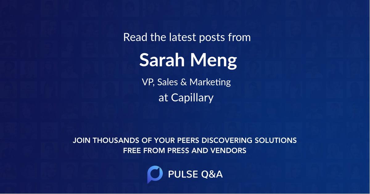 Sarah Meng