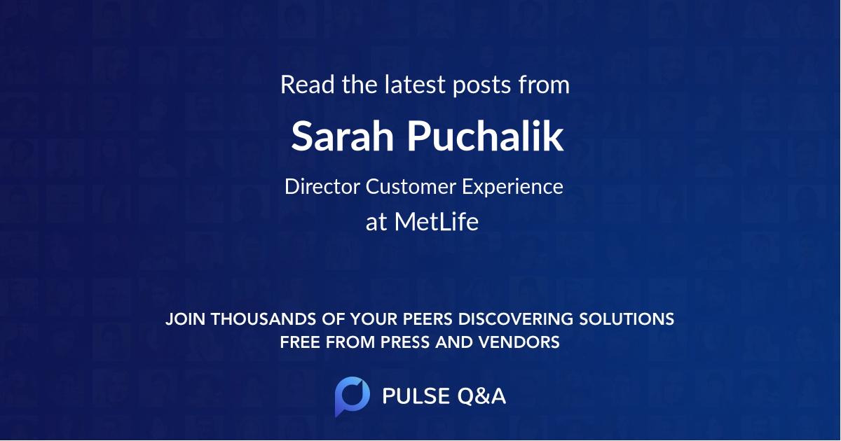 Sarah Puchalik