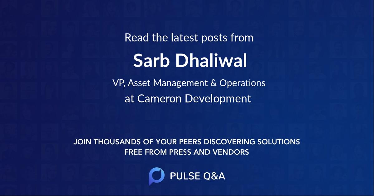Sarb Dhaliwal