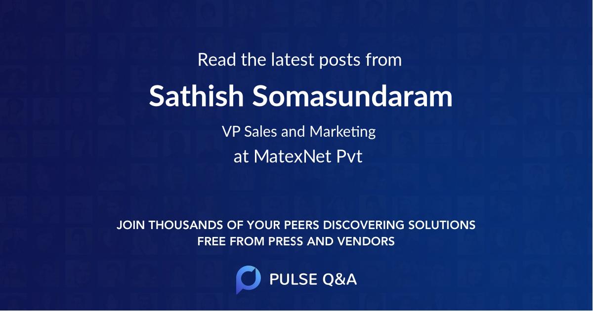 Sathish Somasundaram