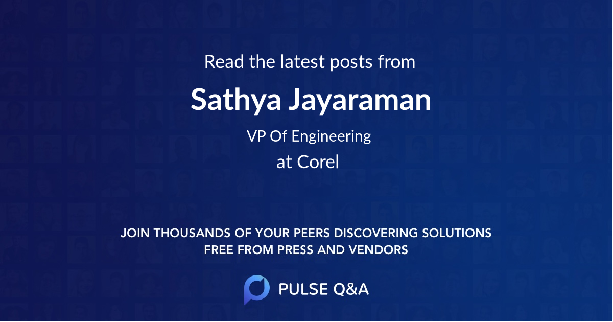 Sathya Jayaraman