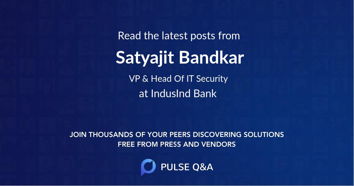 Satyajit Bandkar
