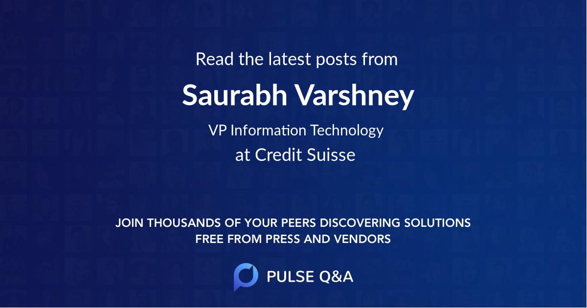 Saurabh Varshney