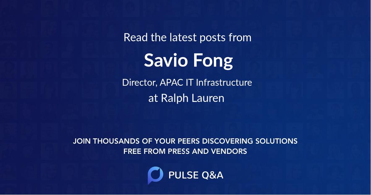 Savio Fong
