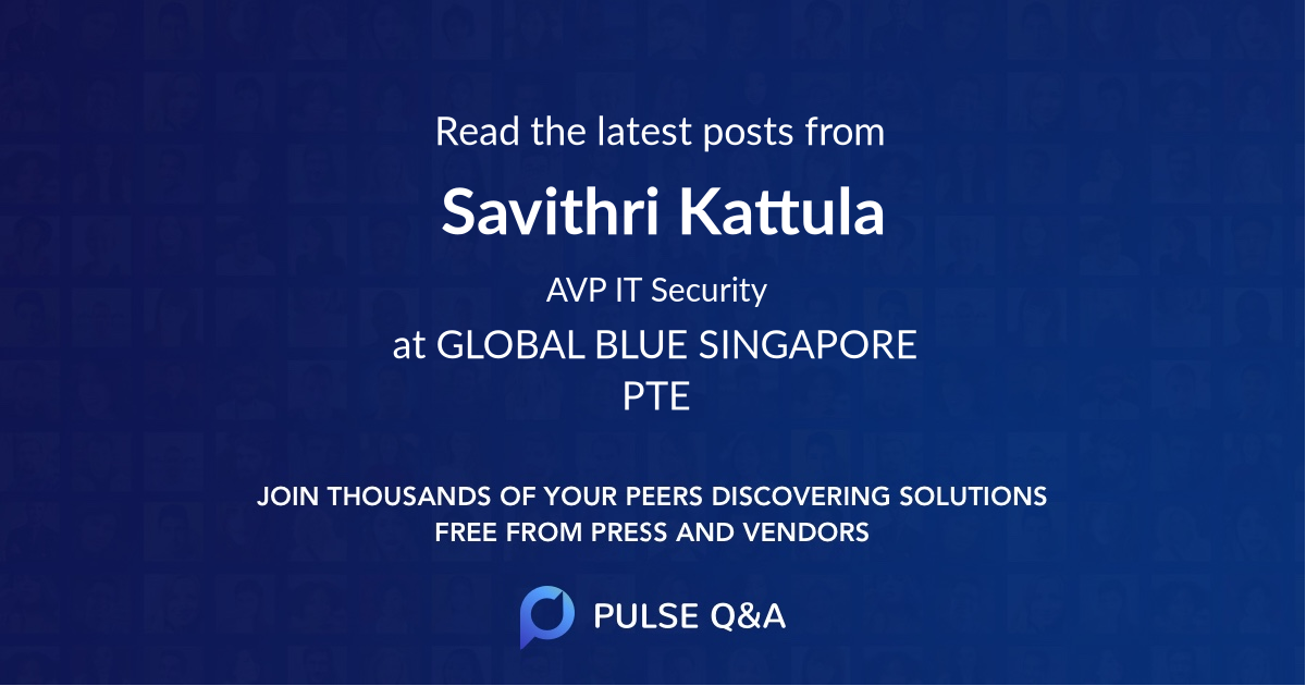 Savithri Kattula