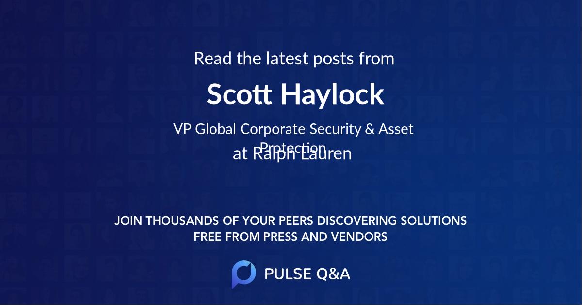 Scott Haylock