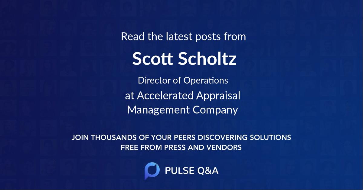 Scott Scholtz