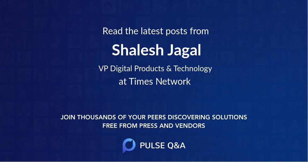 Shalesh Jagal