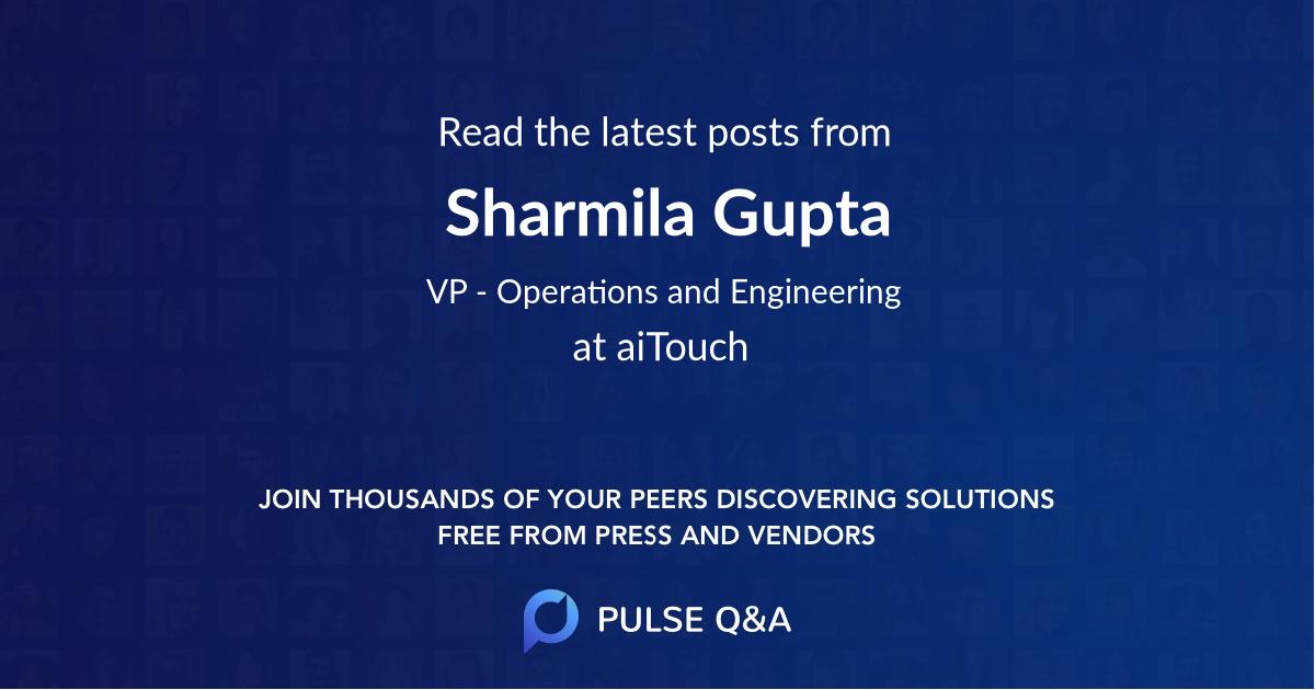 Sharmila Gupta