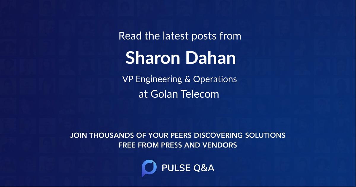 Sharon Dahan