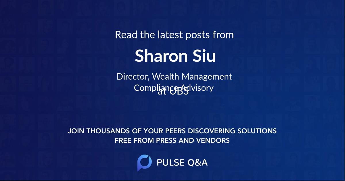 Sharon Siu
