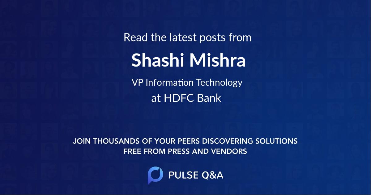 Shashi Mishra