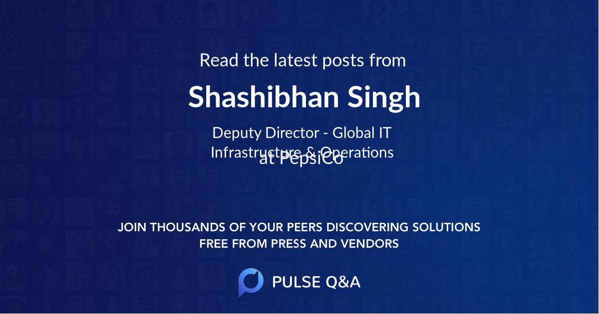Shashibhan Singh