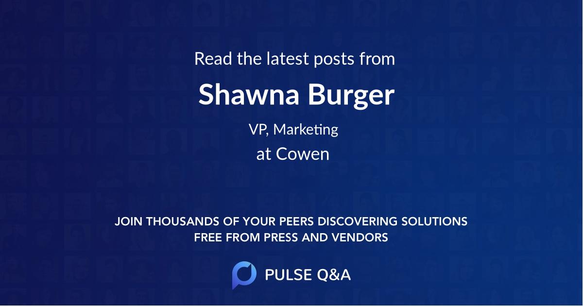 Shawna Burger