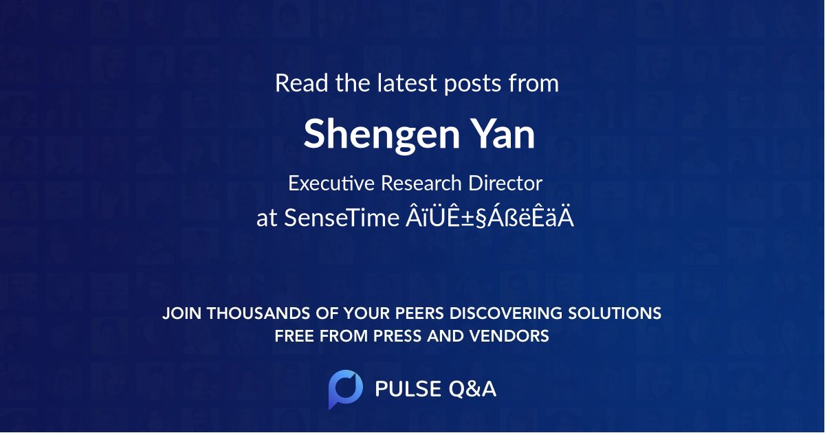 Shengen Yan