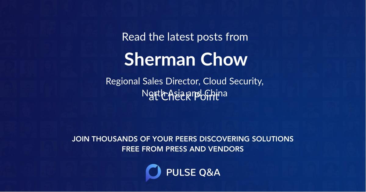 Sherman Chow