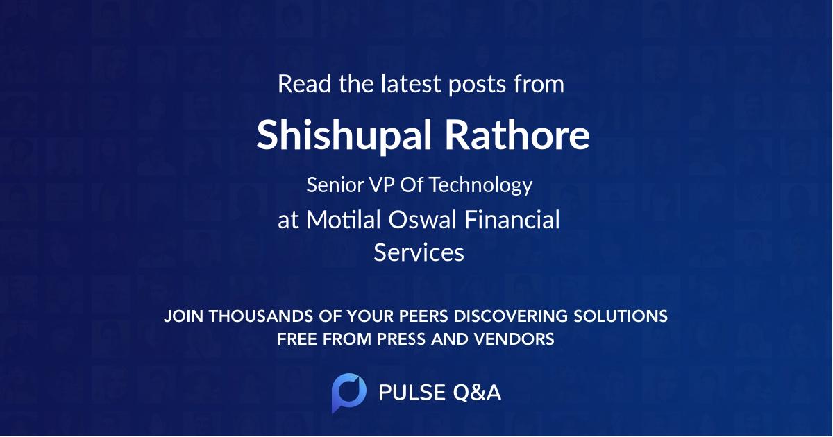 Shishupal Rathore