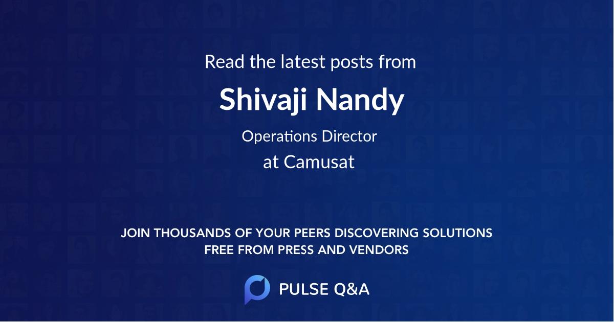 Shivaji Nandy