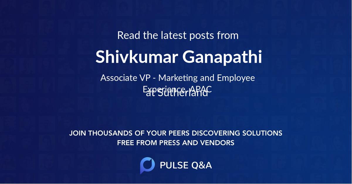Shivkumar Ganapathi