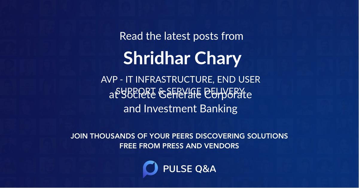 Shridhar Chary