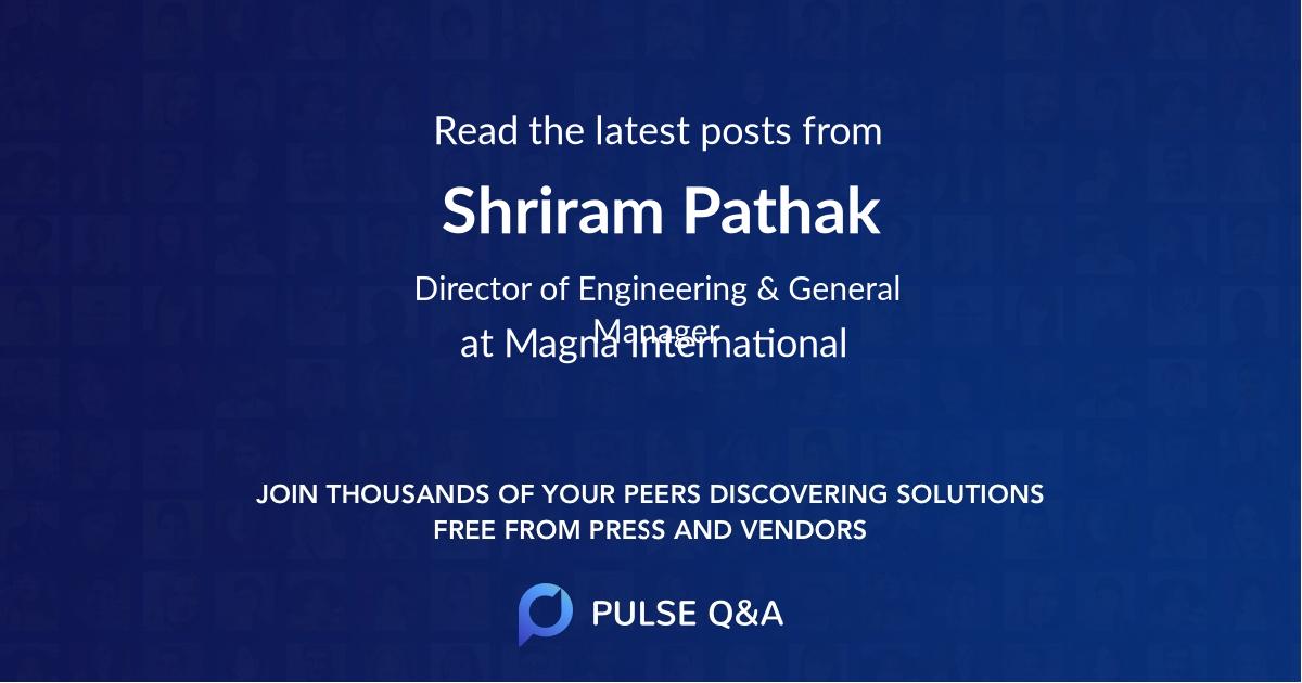 Shriram Pathak