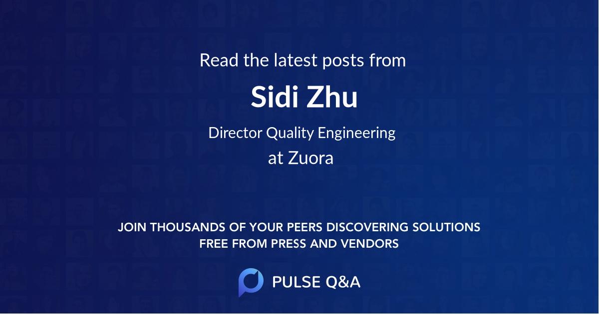 Sidi Zhu