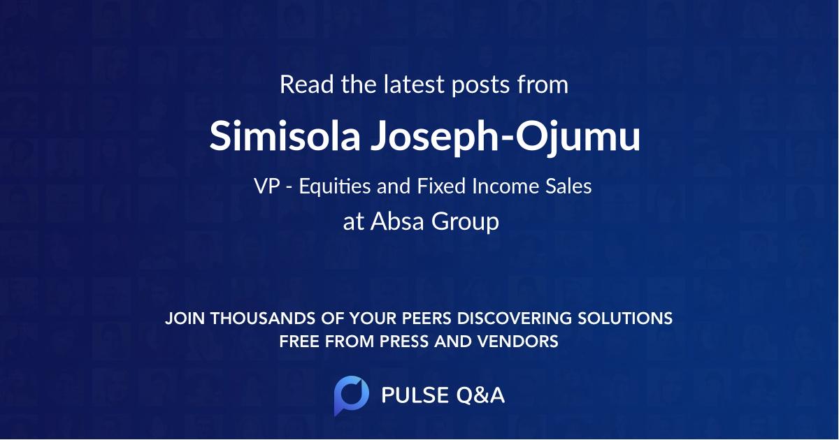 Simisola Joseph-Ojumu
